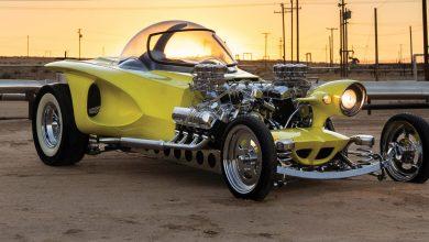 """صورة سيارة """"هوت رود"""" في مزاد سوثبيز … للجنون فنون"""