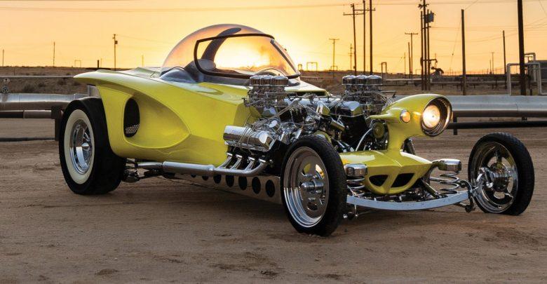 "Photo of سيارة ""هوت رود"" في مزاد سوثبيز … للجنون فنون"