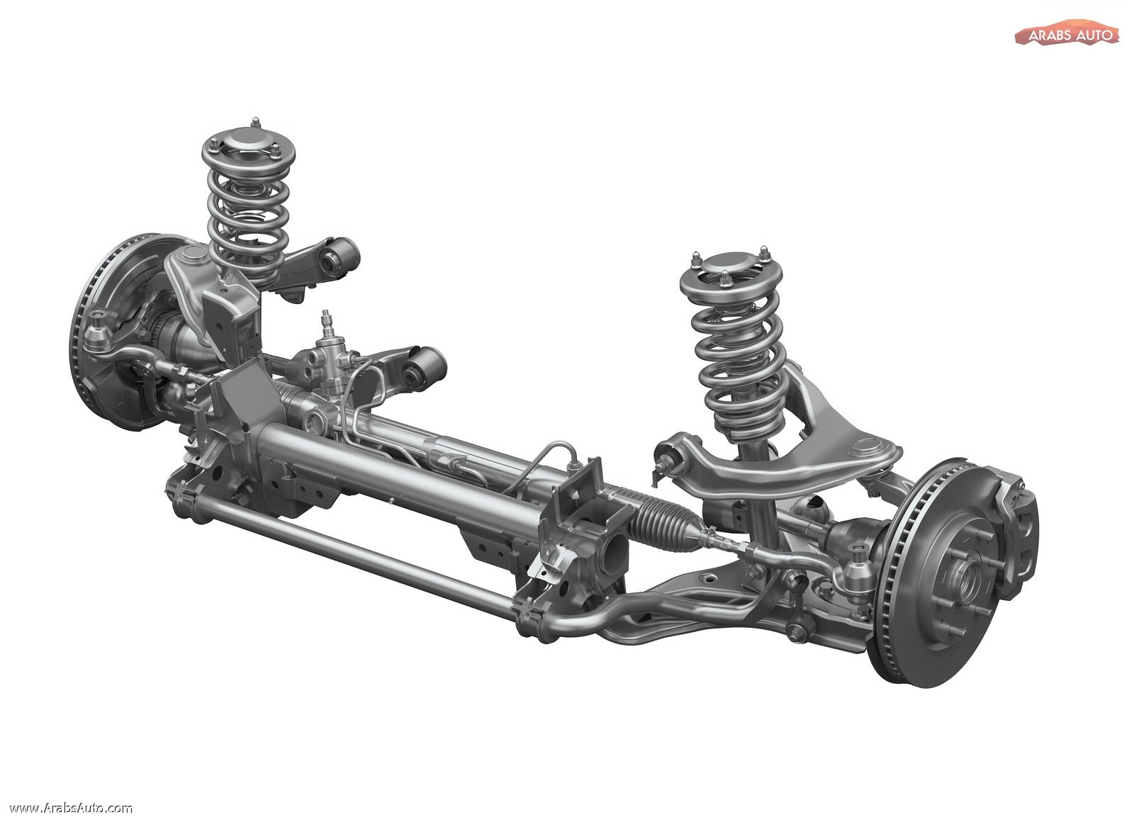 suspension front axle steering