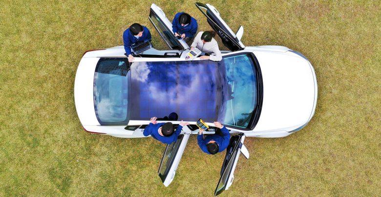 Photo of مجموعة هيونداي موتور تكشف عن تقنية نظام الشحن بالطاقة الشمسية