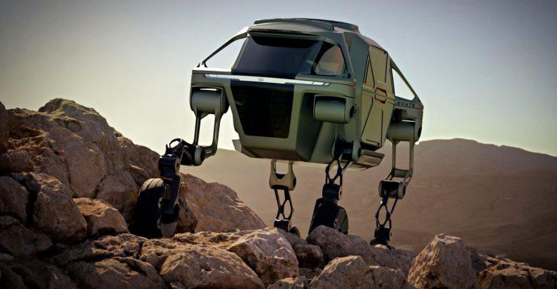 صورة هيونداي تعرض نموذجًا لمركبة قادرة على المشي!