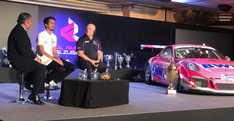 Photo of للعام الثاني على التوالي، الفيصل الزبير بطلاً لـ كأس بورشه جي تي 3 الشرق الأوسط