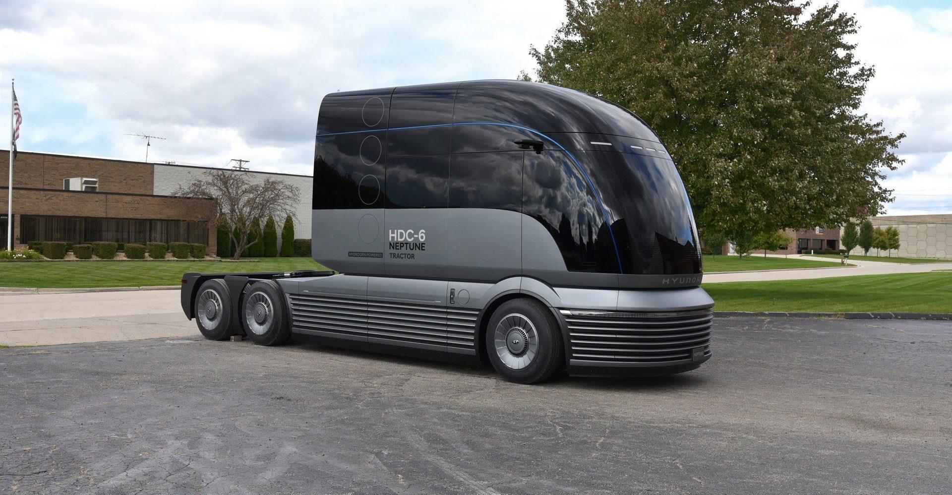 Photo of شاحنة كهربائية من هيونداي تعمل بخلايا الوقود
