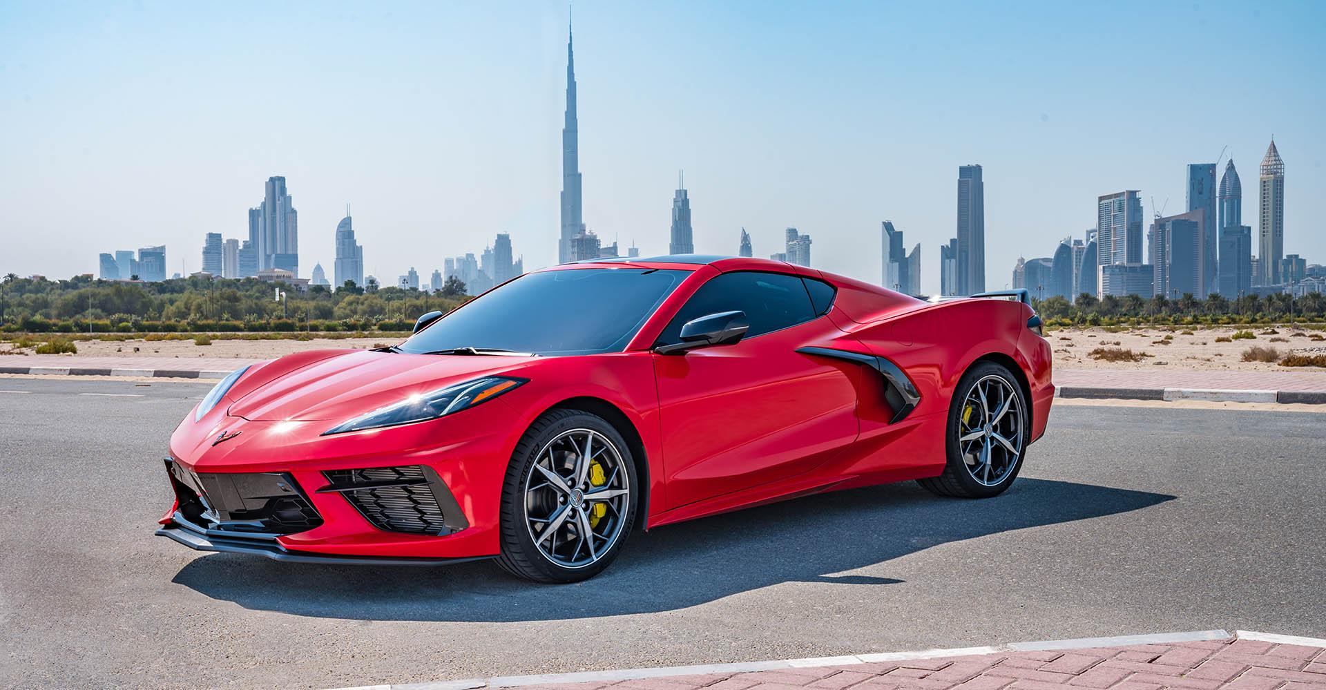 Photo of شفروليه تطلق كورفيت ستينغراي وكابتيفا وأونيكس خلال معرض دبي الدولي للسيارات