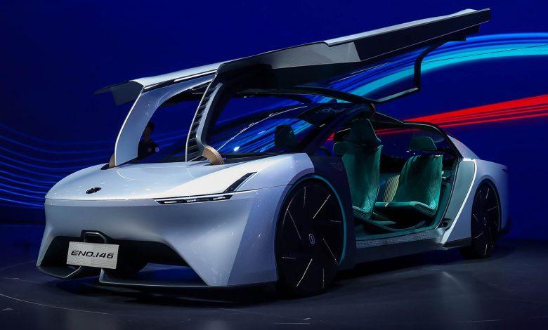 Photo of الصينية GAC ENO.146 السيارة الأفضل انسيابية في العالم