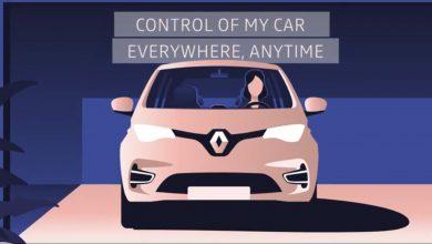 Photo of فيديو: رينو تُقدم تطبيقًا يتيح التحكم بأجهزة المنزل من داخل السيارة