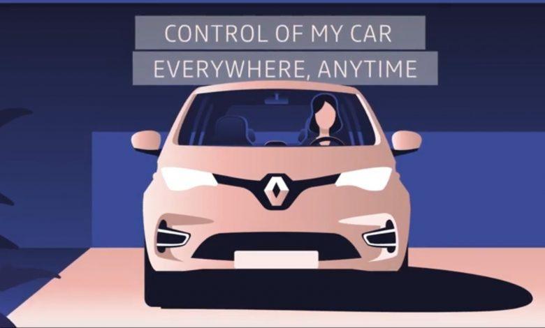 صورة فيديو: رينو تُقدم تطبيقًا يتيح التحكم بأجهزة المنزل من داخل السيارة