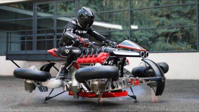 Photo of لازاريث تُقدم دراجة طائرة بسعر نصف مليون دولار!