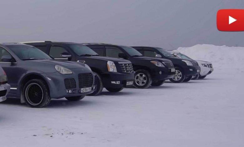 Photo of تحدّي السحب على الثلج، لن تصدق من الفائز!