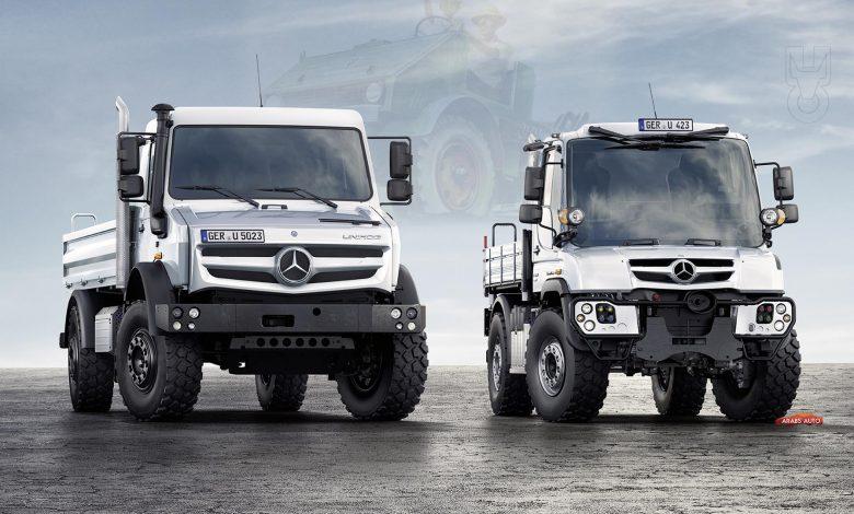 Photo of مرسيدس-بنز يونيموج.. أسطورة الشاحنات