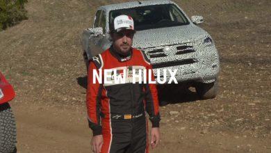 Photo of فِرناندو ألونسو يختبر هايلوكس 2021 قبل أيامٍ على إطلاقها