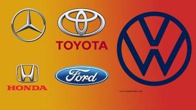 """صورة مُفاجآت """"فورتشن 500"""" لأعلى إيرادات شركات السيارات في العالم"""
